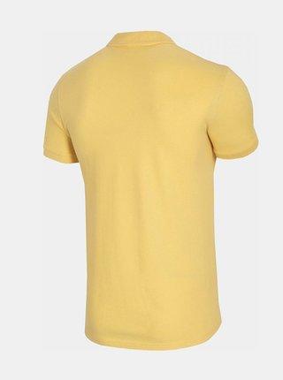 Pánské polo tričko Outhorn TSM626  Žlutá