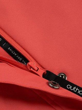 Dámský kabát Outhorn KUDT602  Červená