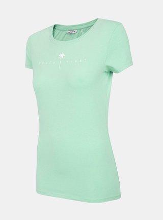 Dámské tričko Outhorn TSD601  Tyrkysová