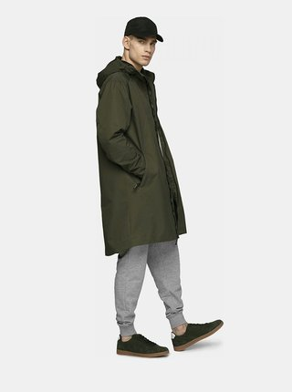 Pánský kabát Outhorn KUM602  Khaki