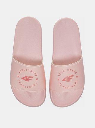 Dámské pantofle 4F KLD202  Růžová