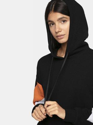 Dámské bavlněné šaty 4F SUDD224  Černá