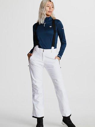 Dámské lyžařské kalhoty DARE2B DWW460Effused  Bílá