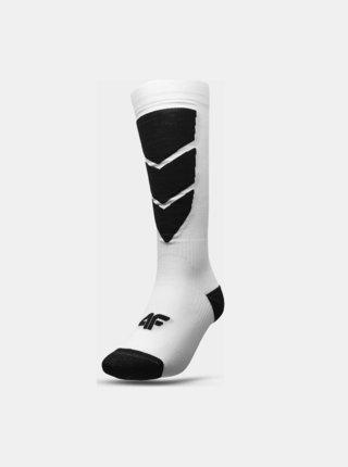 Dámské lyžařské ponožky 4F SODN300  Bílá