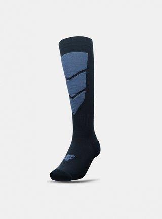 Pánské lyžařské ponožky 4F SOMN300 Modrá