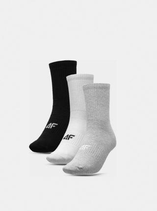 Pánské ponožky 4F SOM303  Šedá