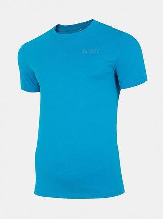 Pánské tričko 4F D4Z20-TSM231  Modrá