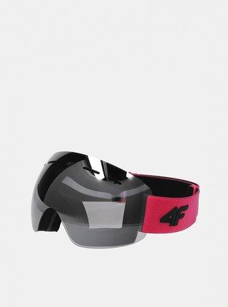Dámské lyžařské brýle 4F GGD350  Růžová
