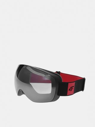 Pánské lyžařské brýle 4F GGM351  Červená
