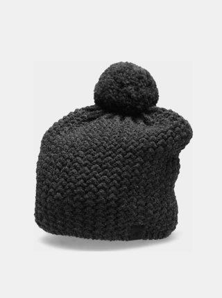 Zimní čepice 4F CAM154  Šedá