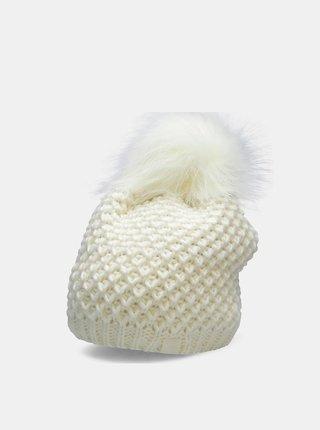 Dámská zimní čepice 4F CAD211  Bílá