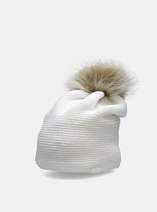 Dámská zimní čepice CAD200  Bílá