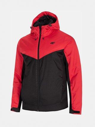 Pánská lyžařská bunda 4F KUMN301  Červená