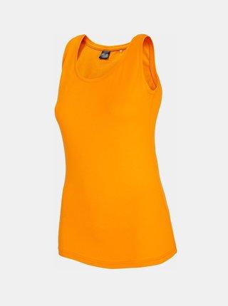 Dámské tílko 4F TSD306  Oranžová