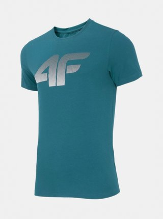 Pánské tričko 4F TSM302 Modrá