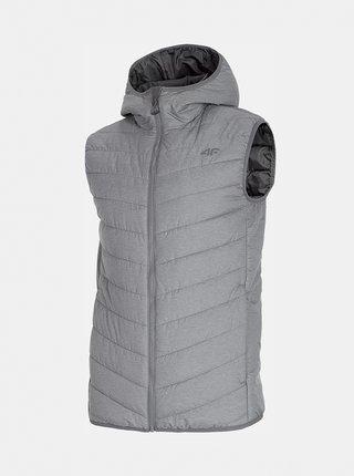 Pánská vesta 4F KUMP303 Šedá