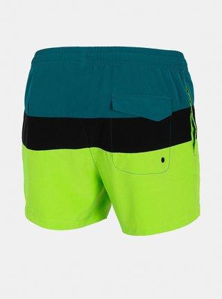 Pánské plážové šortky 4F SKMT201  Zelená