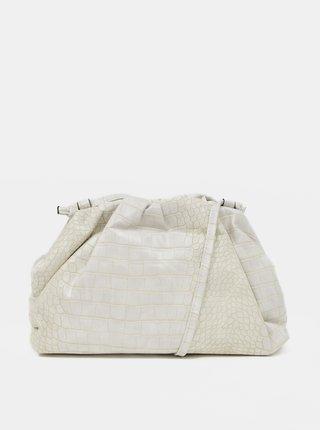 Krémová vzorovaná malá crossbody kabelka Tamaris