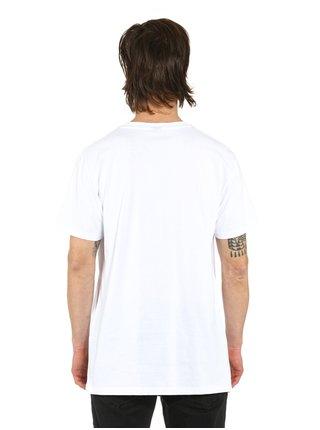 Horsefeathers MERCURY white pánské triko s krátkým rukávem - bílá