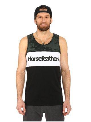 Horsefeathers SPAZ black pánská tílko - černá