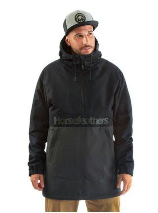 Horsefeathers PERCH PHANTOM podzimní bunda pro muže - černá