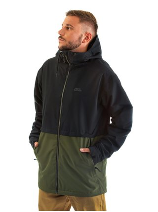 Horsefeathers CLOSTER olive podzimní bunda pro muže - černá