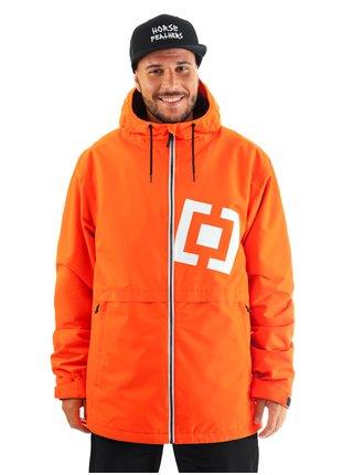Horsefeathers CLOSTER flame podzimní bunda pro muže - oranžová