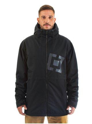 Horsefeathers CLOSTER black podzimní bunda pro muže - černá