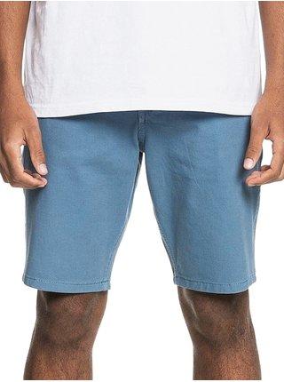 Quiksilver KRANDY Captains Blue pánské riflové kraťasy - modrá