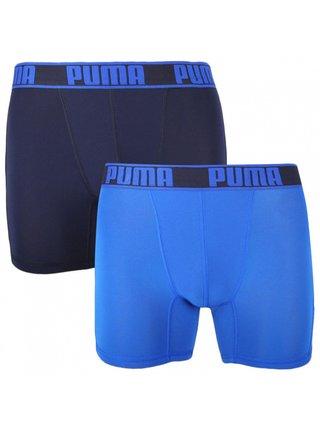2PACK pánské boxerky Puma sportovní modré