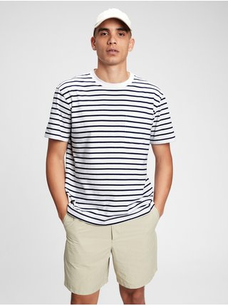 Šedé pánské tričko organic cotton pocket t-shirt