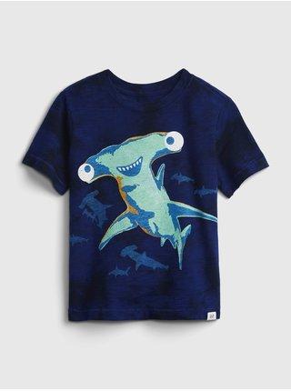 Modré klučičí dětské tričko graphic t-shirt