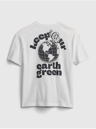 Bílé klučičí dětské tričko gen good t-shirt