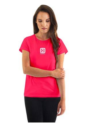 Horsefeathers TALLULAH rose red dámské triko s krátkým rukávem - růžová