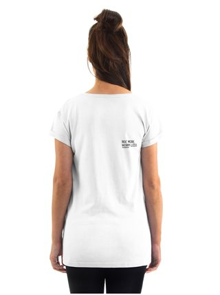Horsefeathers RENATA white dámské triko s krátkým rukávem - bílá