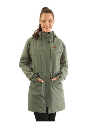 Horsefeathers ELSIE LIZARD podzimní bunda pro ženy - zelená