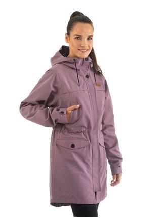 Horsefeathers ELSIE dusty grape podzimní bunda pro ženy - fialová