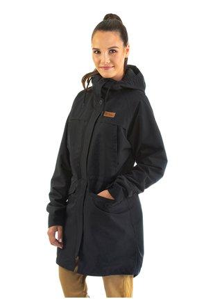 Horsefeathers ELSIE black podzimní bunda pro ženy - černá