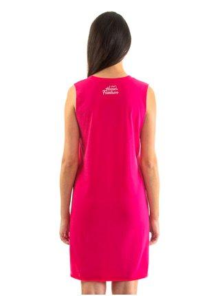Horsefeathers KIM rose red krátké letní šaty - růžová