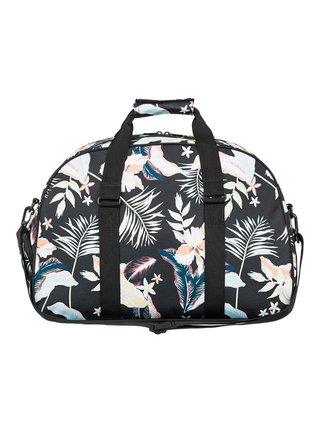 Roxy FEEL HAPPY ANTHRACITE PRASLIN S cestovní taška - černá