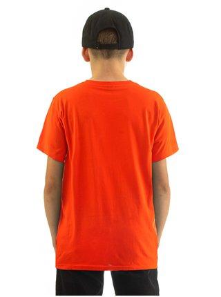 Horsefeathers BASE tomato red dětské triko s krátkým rukávem - červená