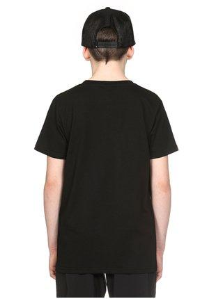 Horsefeathers BASE black dětské triko s krátkým rukávem - černá