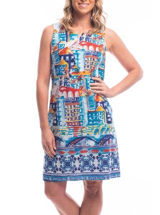 Orientique barevné letní šaty Algarve Reversible