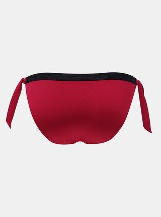 Tommy Hilfiger fuchsiový spodný diel plaviek Cheeky Side Tie Bikini