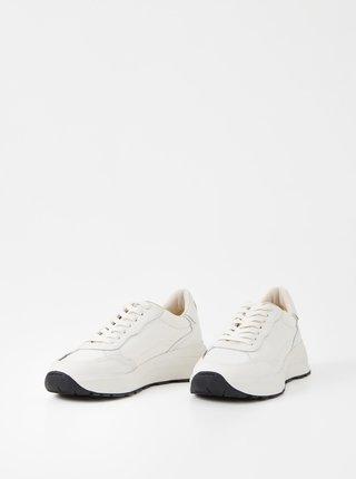 Bílé dámské kožené tenisky Vagabond