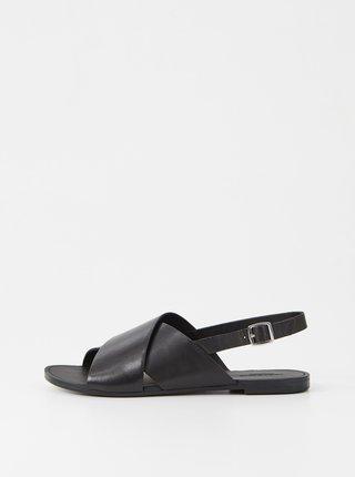 Černé dámské kožené sandály Vagabond