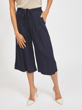 Tmavě modré culottes VILA Vero