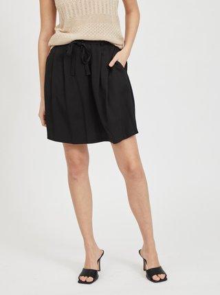 Čierna sukňa s vreckami VILA Vero