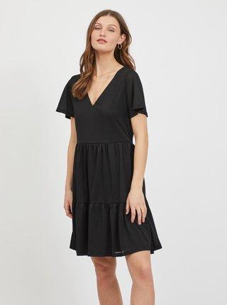 Čierne šaty VILA Natalie