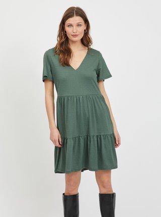 Zelené šaty VILA Natalie